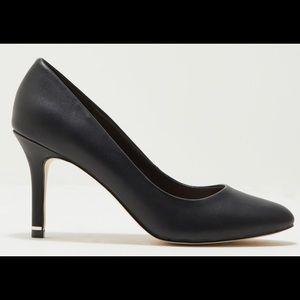 Call It Spring Round Toe Heels - Black